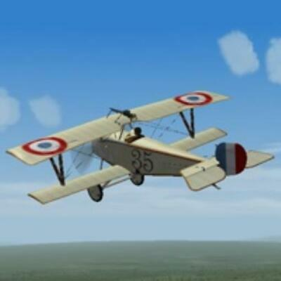 Barocca Pack New Ares Wings of Glory WWI 1:44  Nieuport 17