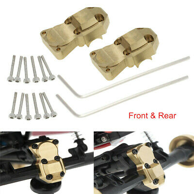 Brass Front Rear Axle Diff Housing Cover for Axial SCX24 1/24 RC Crawler