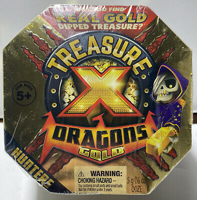 Treasure X Dragons Gold  Hunters Mystery Pack 10 Levels Of Adventure New Sealed!