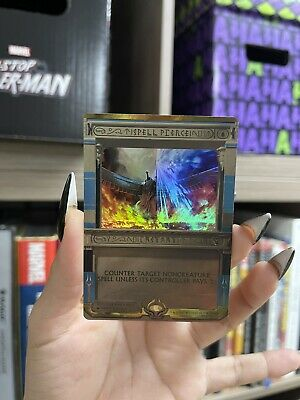 MTG Amonkhet Invocations 2017 Spell Pierce M//NM Foil Mythic MPS Masterpiece
