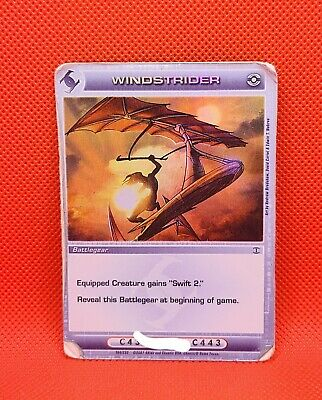 Chaotic Card Windstrider Unused Code