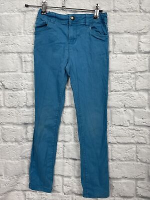 Boys Bright Blue Skinny Jeans size 7-8 Years PRIMARK Denim&co C3268