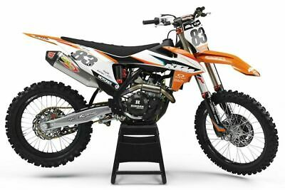 WP FACTORY CONE VALVE FORK DECA CLEAR//RED//BLK  KTM 350 SXF 250 SXF MOTOCROSS