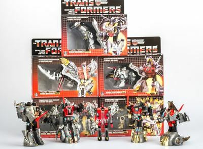 New arrive Transformers G1 Reissue Dinobots SLUDGE Clear Ver Gift Toys