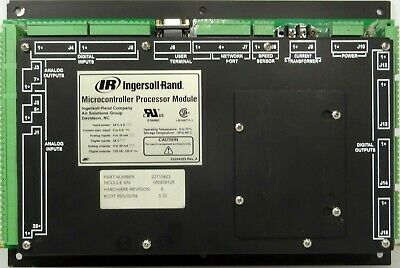 Details about  /Ingersoll-Rand 22110423 Microcontroller Processor Module 120VAC out 24VDC in