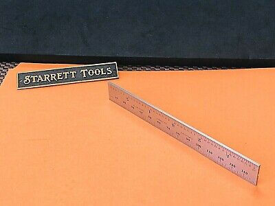 STARRETT No.B150-36  150mm Tempered Steel Blade Only For Combination Squares.