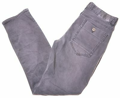 TOMMY HILFIGER Boys Jeans 15-16 Years W30 L29 Grey Cotton Skinny Rebel HE03