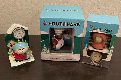 """Lot of 5 Eric Cartman South Park Sticker 4.5/"""" X 4.25/""""  1997 Comedy Central"""