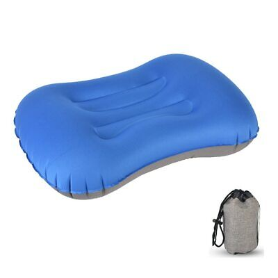 Inflatable Pillow Cushion Sack Lightweight Compact Air Portable Camping Hiking