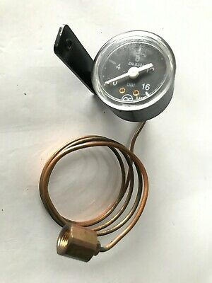 Bezzera//Faema Coffee Machine Boiler-pump Pressure Gauge ø 60 Mm