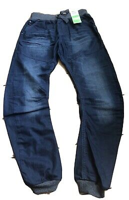 Brand New 2x Pairs George Curved Jeans Age 13/14 Yrs