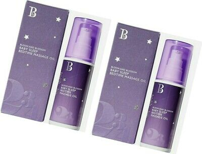 2x bloom and blossom baby sleep bedtime massage oil 100ml in Each #FREE UK P&P #