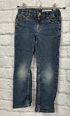 Boys Blue Jeans Size 5-6 years POLARN O-PYRET/SWEDEN  C3600