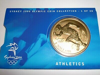 "- Australia - One  "" 5  Dollars ""   Coin - 2000 - Sydney Olympic Coin Collection"