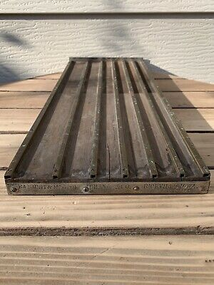ANTIQUE COIN CHANGER TRAY SIX SLOT EARNIST & MCCOOK RICEVILLE IOWA Pat.1894 F/S