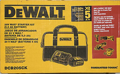 Dewalt Dcb205Ck 5 Amp Battery Bag And Charger Kit