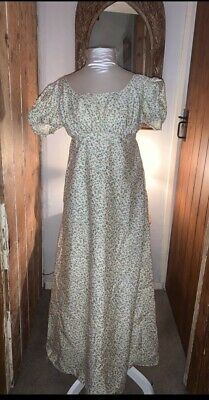 Regency Style Puff Sleeved Gown