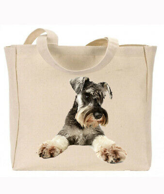 Gift For Dog Lovers Reusable bag Quality Canvas Gusseted Tote  Shopper Ideal Present CS Dog Wire Fox Terrier 382199644
