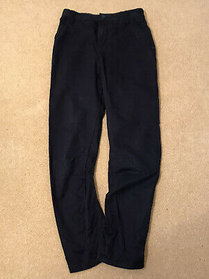 NEXT TWISTED LEG NAVY BLUE LIGHTWEIGHT TROUSERS/JEANS 10yrs/140cm VGC
