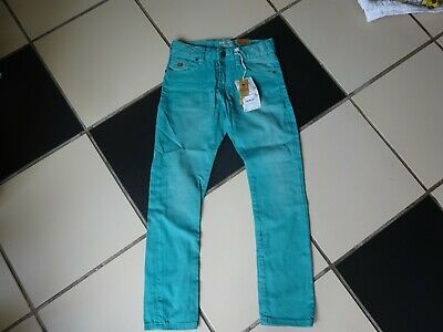 Boys Scotch Shrunk Teal Jeans Age 8 BNWT