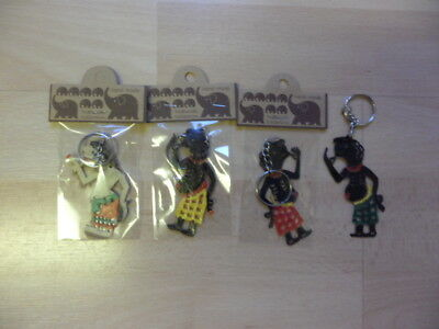 New 3 KK Designs  HandMade Natural Collection Keyrings