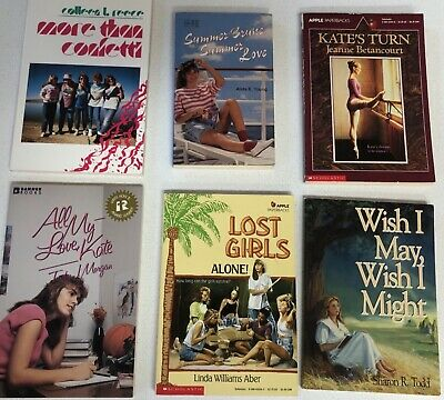 Lot of 6 Chapter Books for GIRLS Youth Early Reader Young Adult Children RANDOM