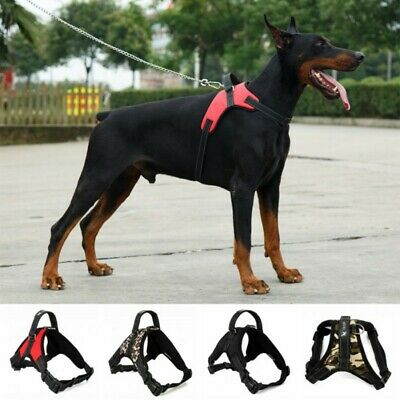 No Pull Dog Pet Harness Adjustable Control Vest Dogs Reflective S M Large XL NEW