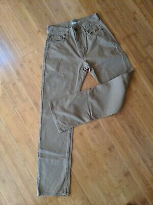 Old Navy Straight Leg Boys Brown Jeans Size 26x30