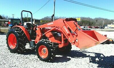 2017 Kubota M7060 4x4 Loader Hydraulic Shuttle- *FREE 1000 MILE DELIVERY FROM KY