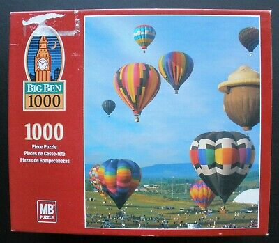 1000 Piece Puzzle   Hot Air Balloons    Smokey Bear   Sealed Box, Never Opened