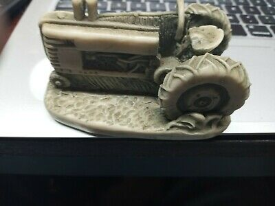 Vintage Limited Edition Georgia Marble John Deere Tractor Paper Weight