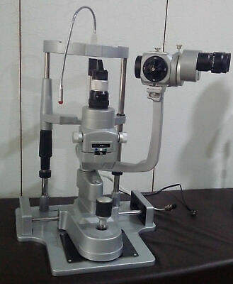 MIKO/MZL-3S/3 step Slit Lamp with alumiuim base, manual table & 110V power suppy