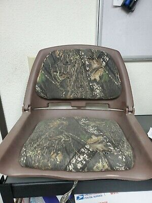WISE BOAT SEAT ADVANTAGE MAX 4 CAMO WITH BROWN SHELL 8WD139-732G