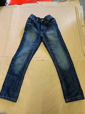 Next Boys Blue Denim Jeans Age 4 Years