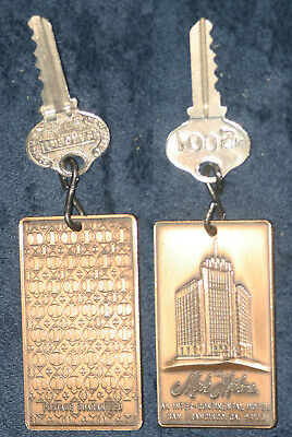 Mark Hopkins Hotel San Francisco Key Fob Top Of The Mark Private Party # 2001