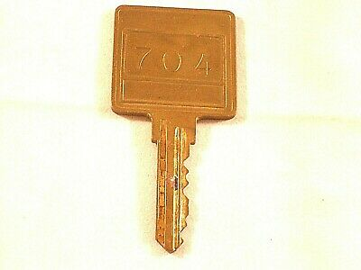 Vtg. room key #704 from the Inns of the Americas, Inc.