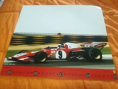 Calendario Ferrari 1999 official