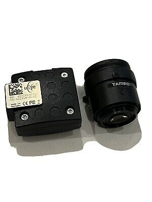 IDS UI-1225LE-M-GL Imaging Camera With Tamron Lens Ueye Golf Foresight Studio