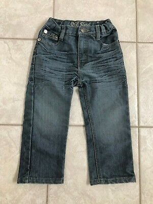 Boys Toddlers Old Skool Straight Leg Jeans Size 2T