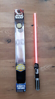 Hasbro Ultimate FX Darth Vader  Laserschwert Lichtschwert Star Wars Lightsaber