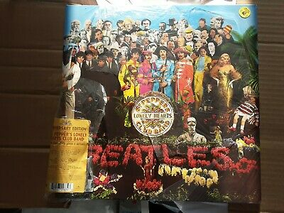 The Beatles-Sgt.Peppers Lonely Hearts Club Band Anniversary Edition Vinyl LP NEW