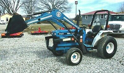 New Holland 1720 4x4 with Front End Loader - *FREE 1000 MILE DELIVERY FROM KY
