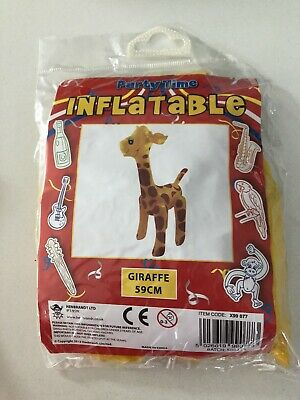 Small Inflatable Giraffe BNwT