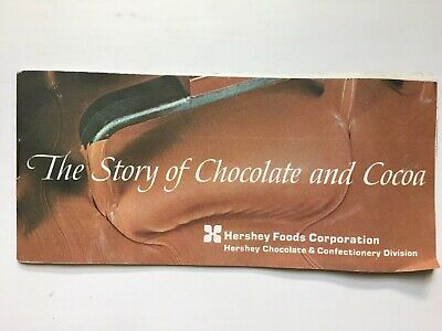 The Story of Chocolate and Cocoa, 1970 Hershey Chocolate Company Vintage
