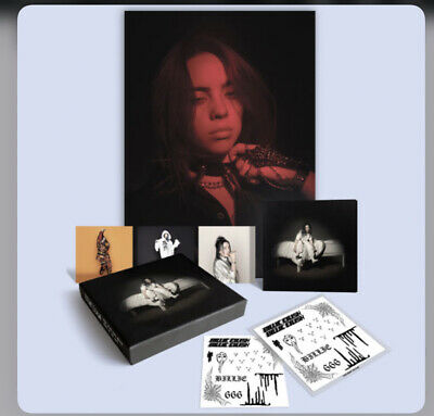 Billie Eilish, When We Fall Asleep, Where Do We Go  , Deluxe Clamshell Cd Boxset