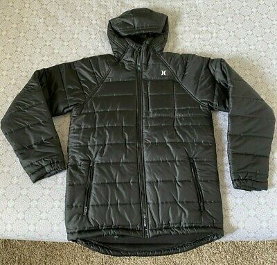 Jacket Clay Green Durable, Water-Repellent Hurley Men/'s Forge DWR