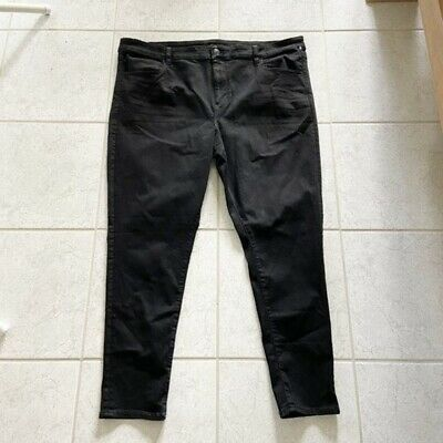 NEW American Eagle Next Level Stretch Black High Rise Jeggings Plus Size 24