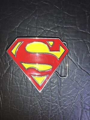 Official Superman Belt Buckle DC Comics Metal