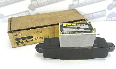 PARKER - DIW1C-VY31-BM Directional Control Valve - 120V, 3000 PSI (NEW in BOX)