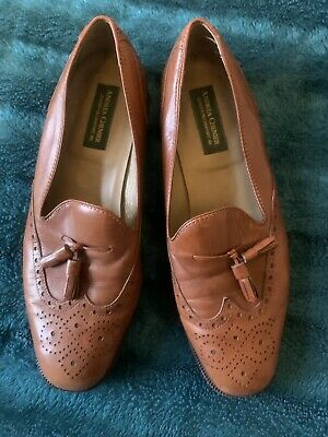 Ladies Vintage ANDREA CHENIER Vintage Leather Casual Shoes UK 5